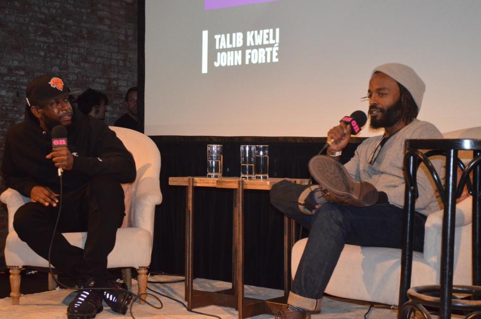 Talib Kweli in conversation with John Forte