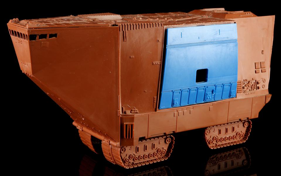 Star Wars, auction, results, Jawa, Sandcrawler, Prototype, Blue Door, investment, Kenner