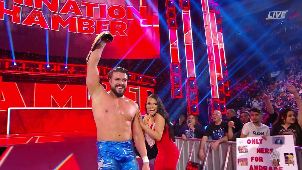 Image result for elimination chamber andrade