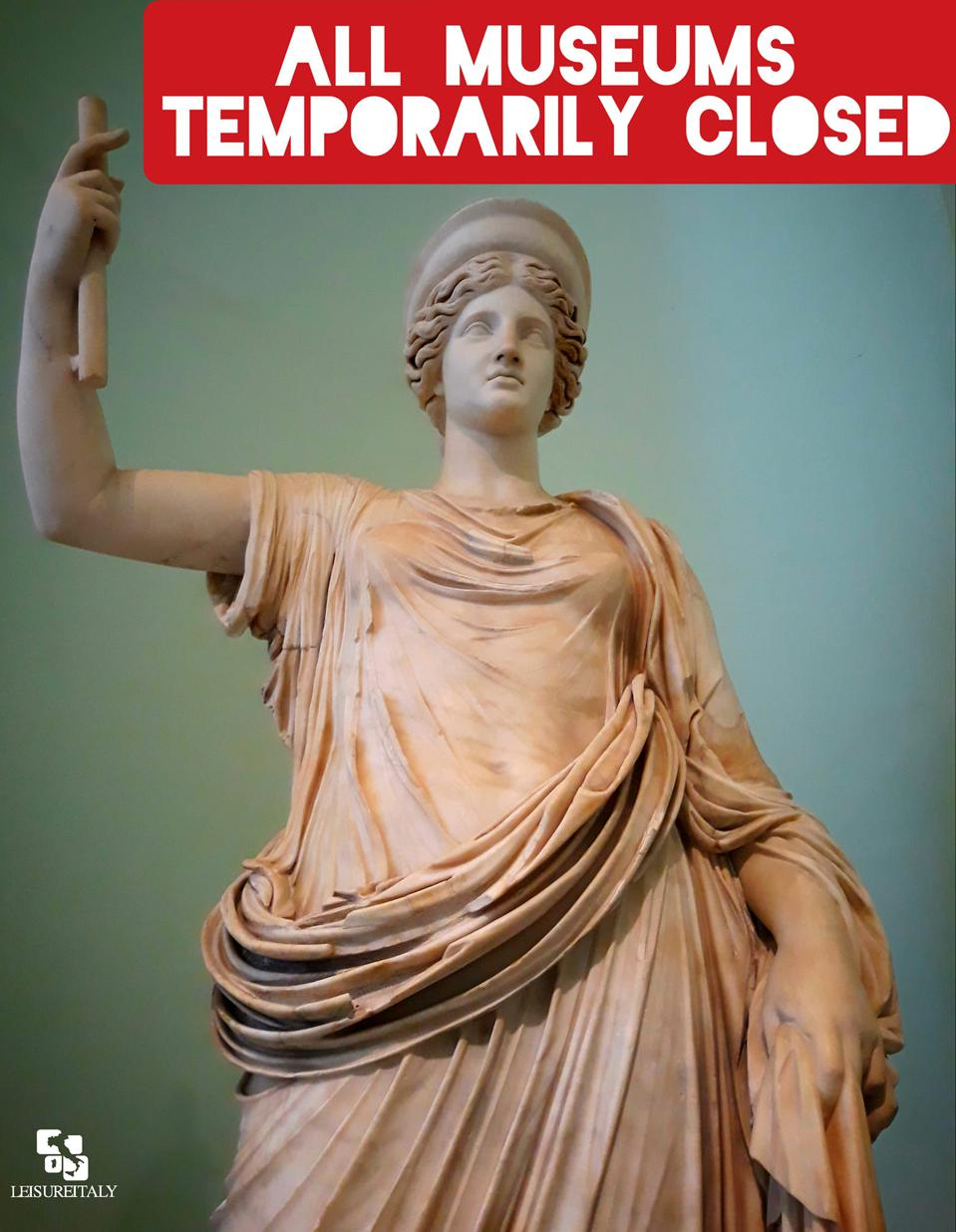 MUSEUMS-CLOSED-Italy-Coronavirus-Crisis