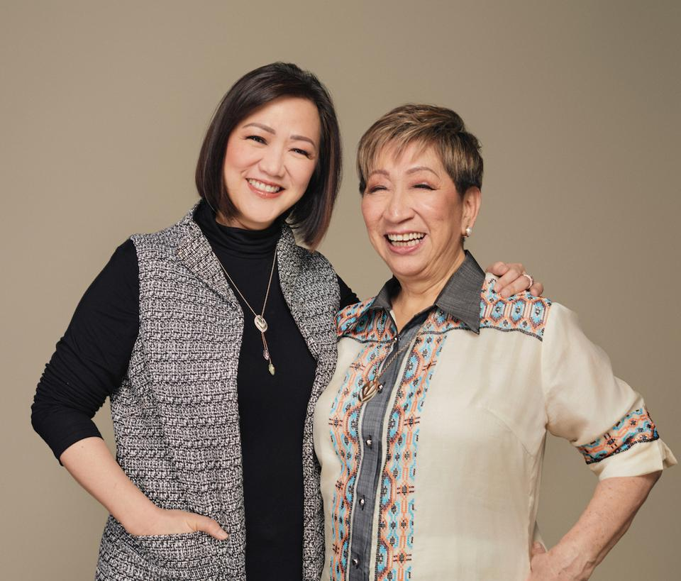 Rosalina Tan and Mary Jane Ong Founders of Pili ANi