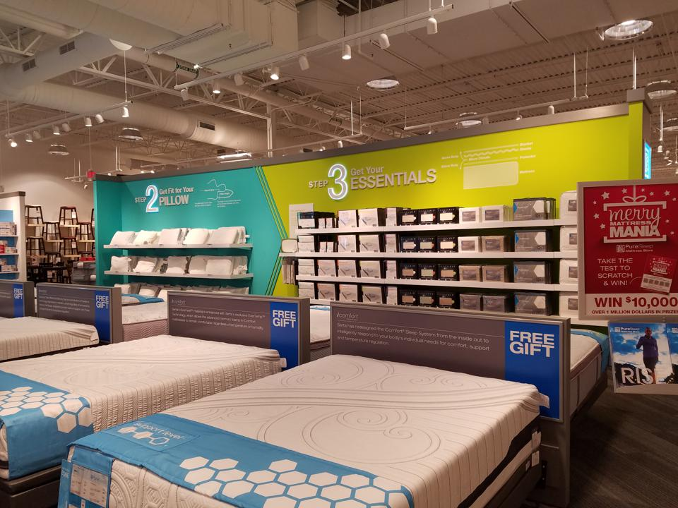 mattresses, pillows and bedding at Art Van
