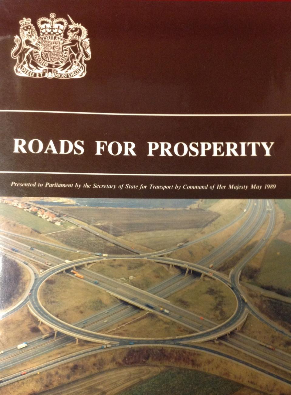 ″Roads for Prosperity″ report, 1989.