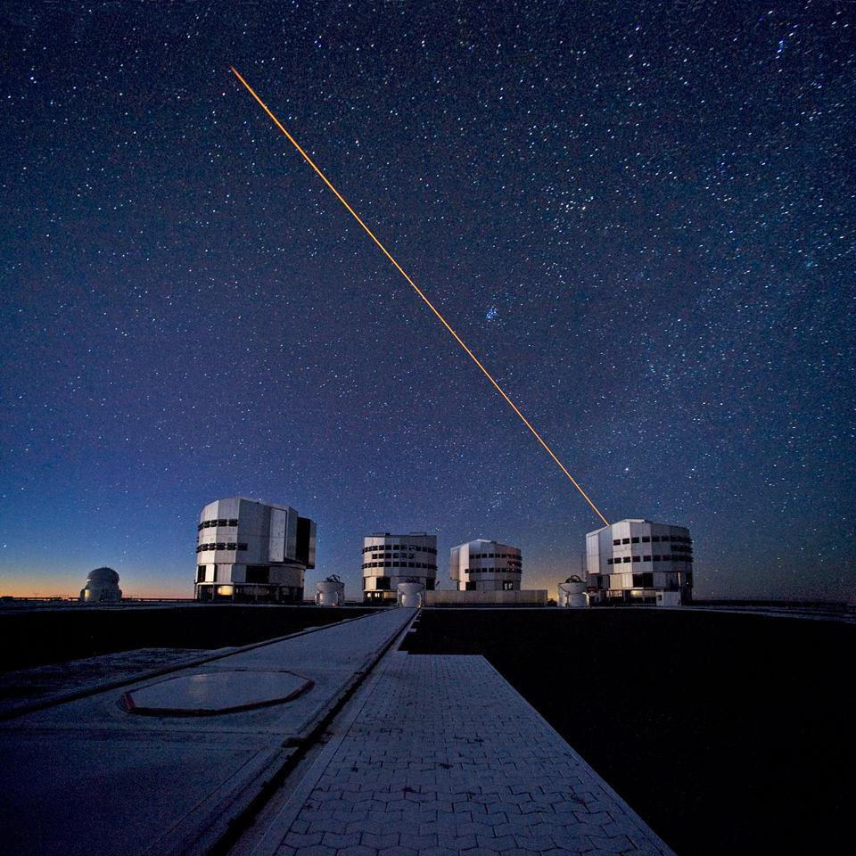 Researchers using ESO's Very Large Telescope (VLT) have observed an extreme planet where they suspect it rains iron.