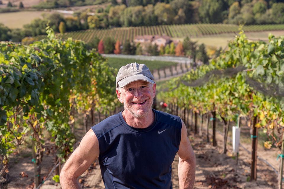 Dan Goldfield, winemaker, Dutton Goldfield, Santa Rosa, Sonoma County