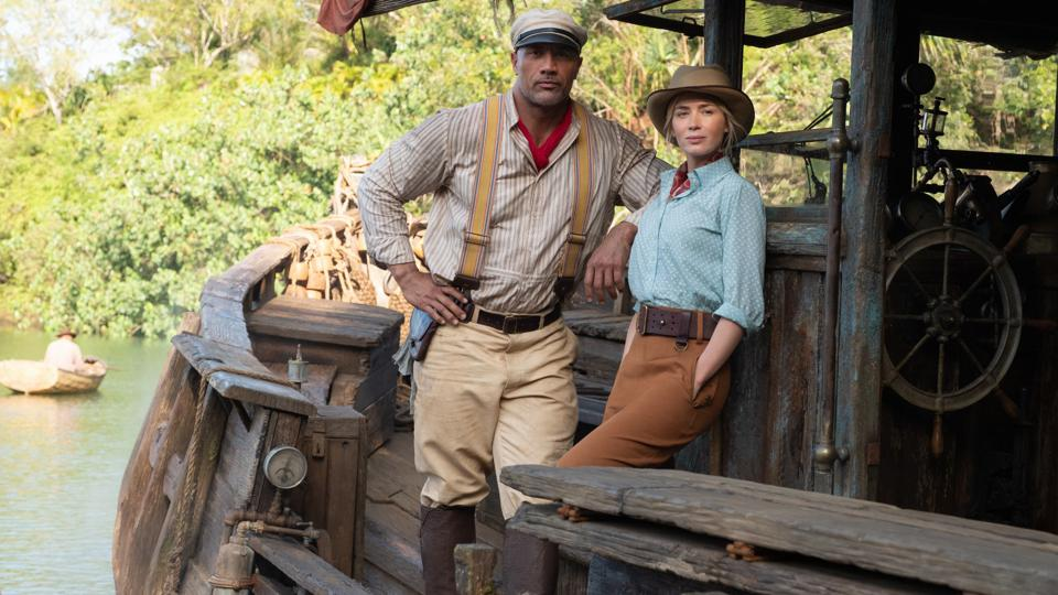JUNGLE CRUISE - (L-R) Dwayne Johnson as Frank and Emily Blunt as Lily_1920x1080
