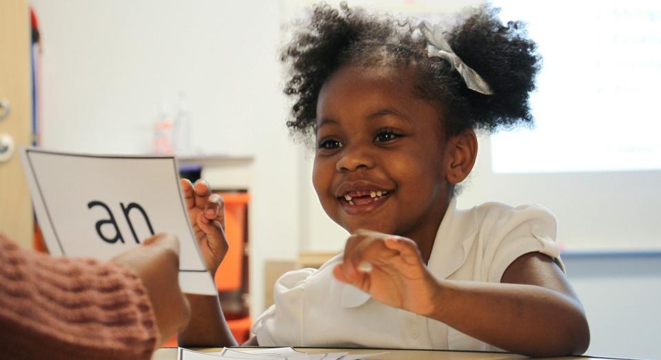KIPP public charter school student read for turnaround success