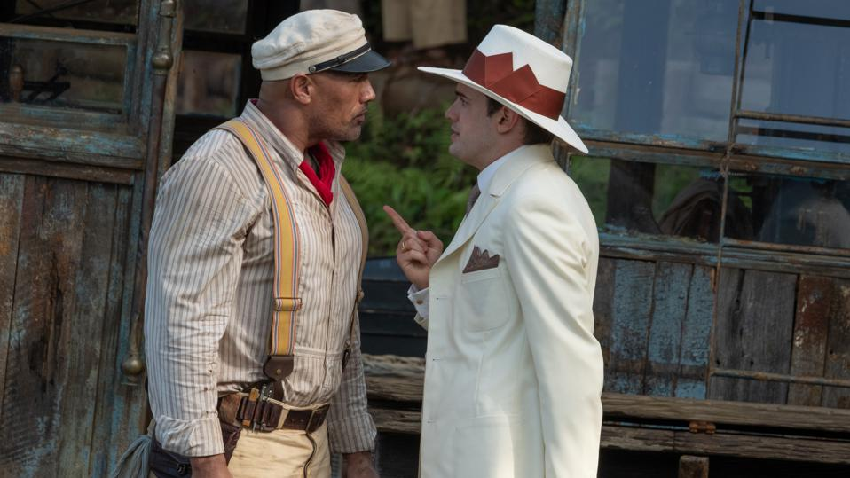 Dwayne Johnson and Jack Whitehall in 'The Jungle Cruise'