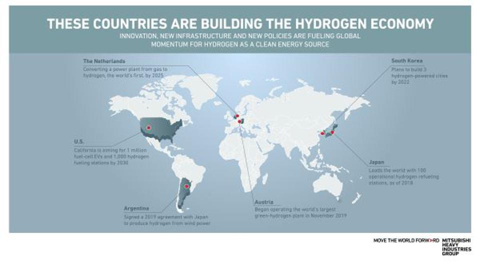 Where In The World Are The Hydrogen Trailblazers? [Infographic]