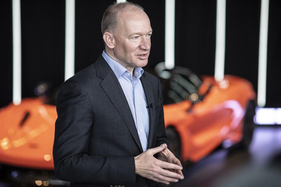 McLaren CEO, Mike Flewitt