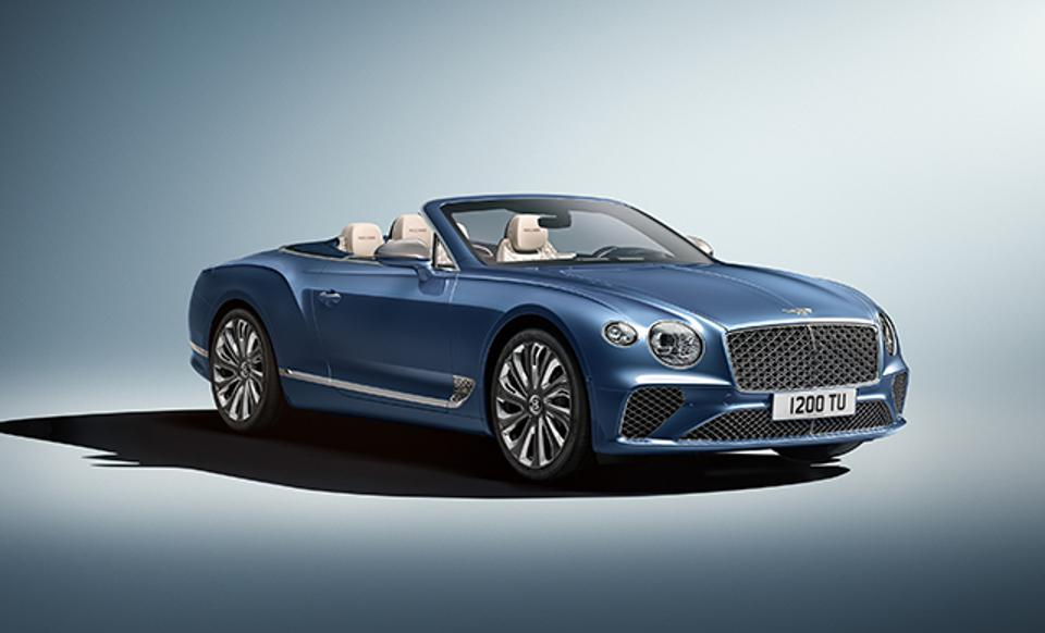 The new Bentley Continental GT Mulliner.
