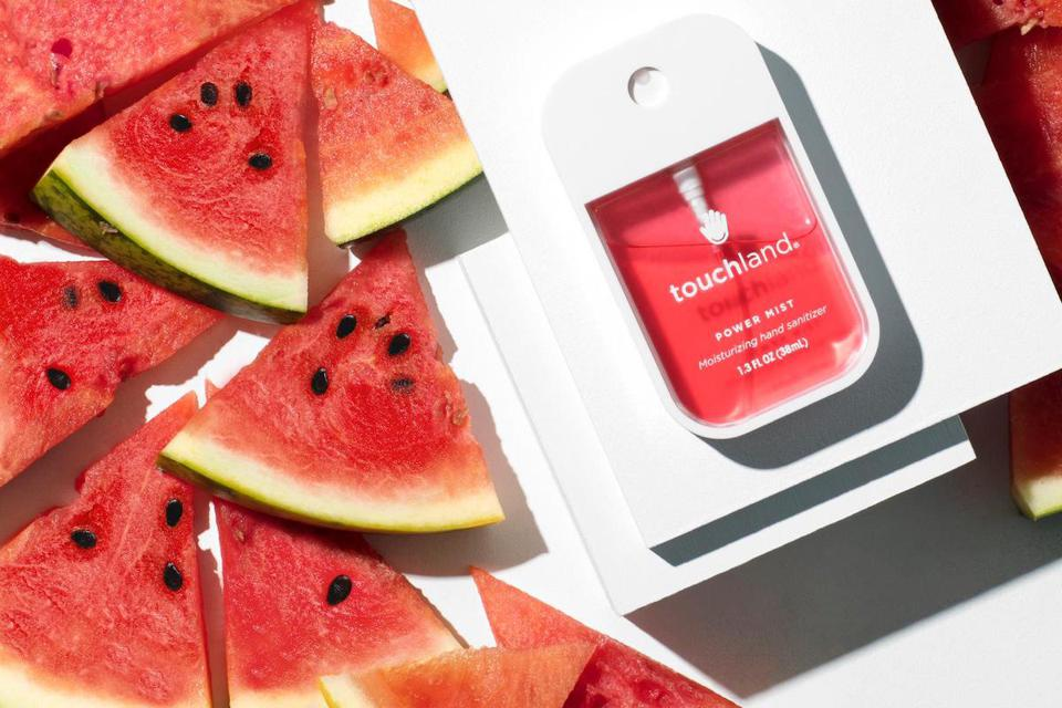 Watermelon is a popular Touchland scent.