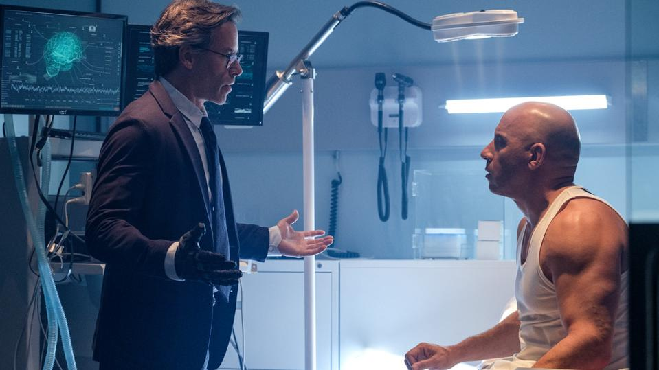 Vin Diesel and Guy Pearce in 'Bloodshot'