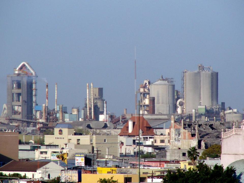 CEMEX's Monterrey plant