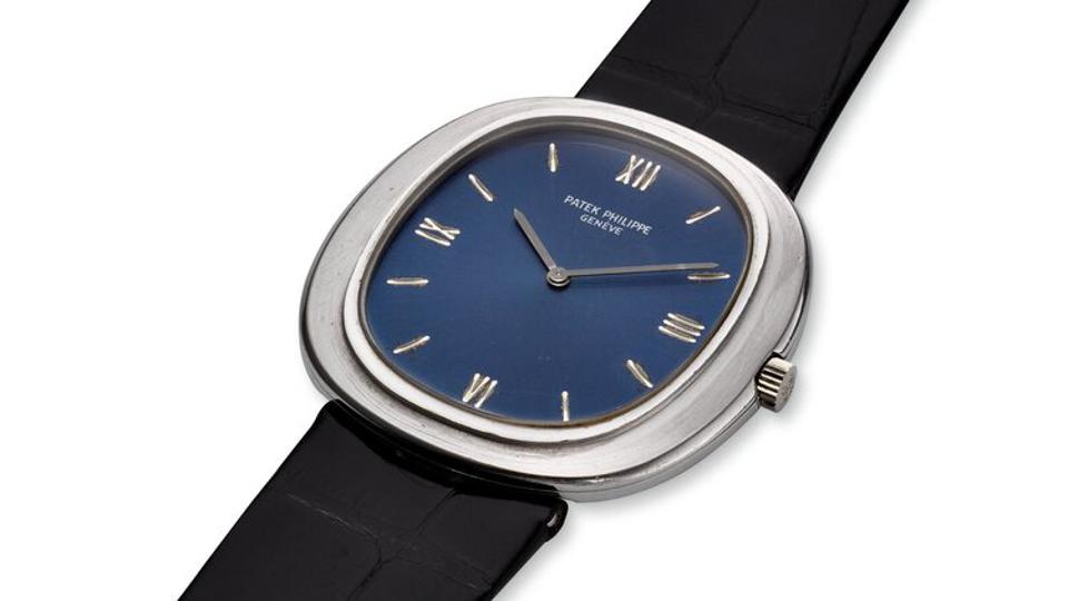 A Patek Philippe vintage timepiece is among the watches up for auction.