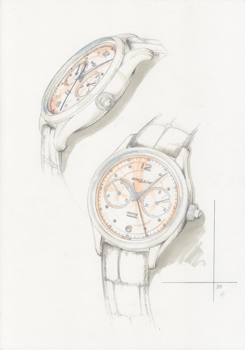 Montblanc Heritage Monopusher Chronograph 2020