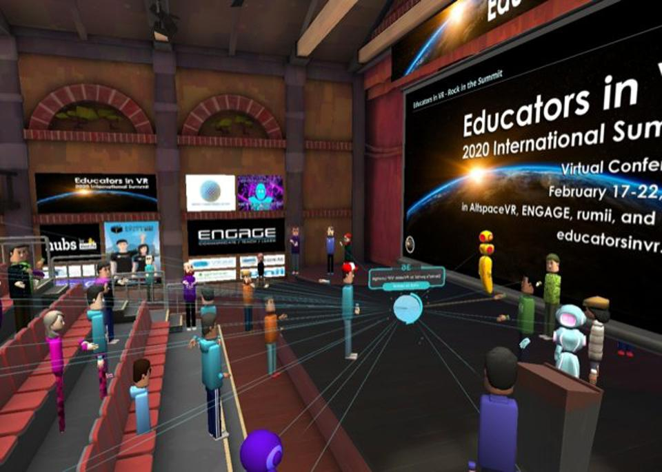 VR Takes The Stage As Conferences Cancel