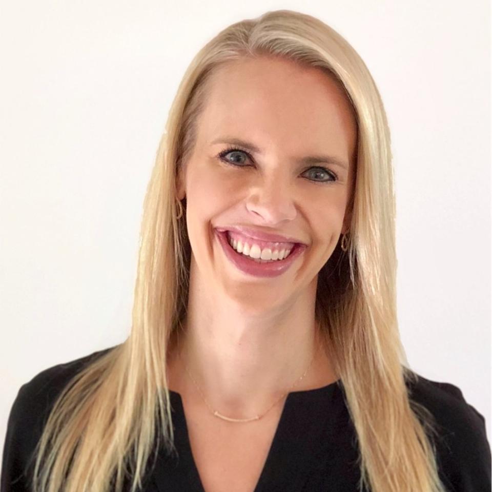 Headshot of Katherine Pond Vizio VP of business development