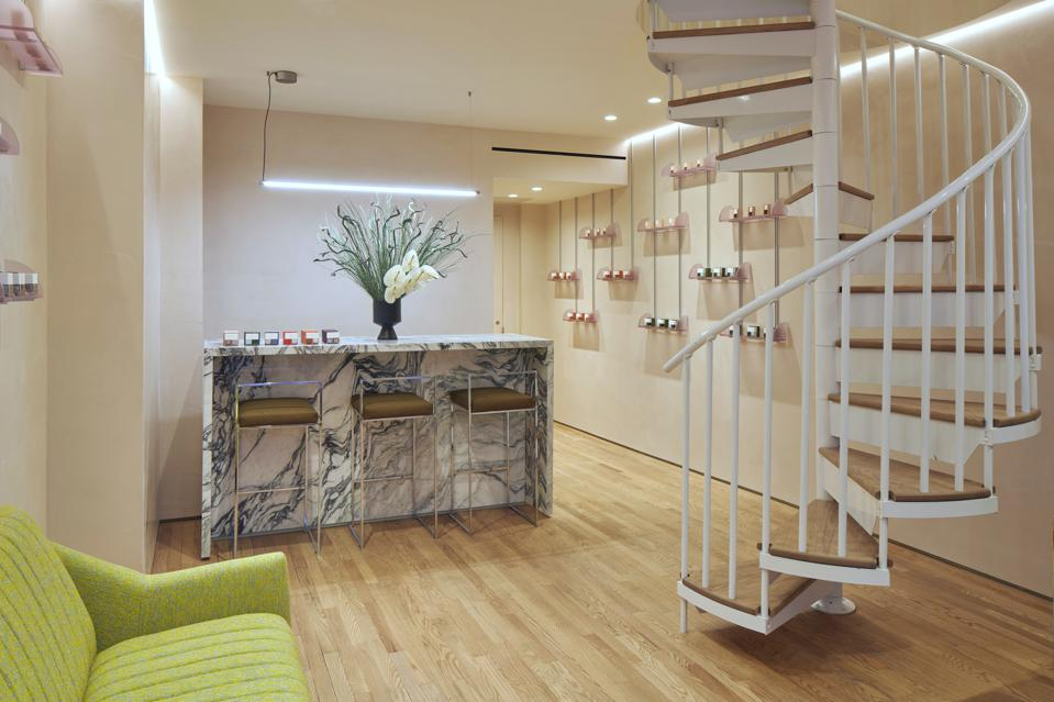 The first floor of Paintbox's new Upper East Side location