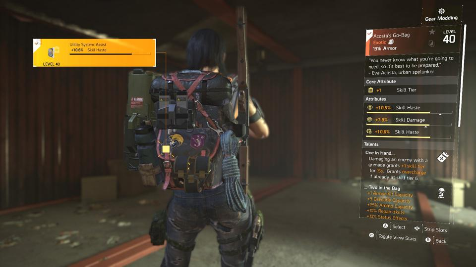 A Division 2 Warlords Skill Tier Build For Lots Of Damage And Easy Farming