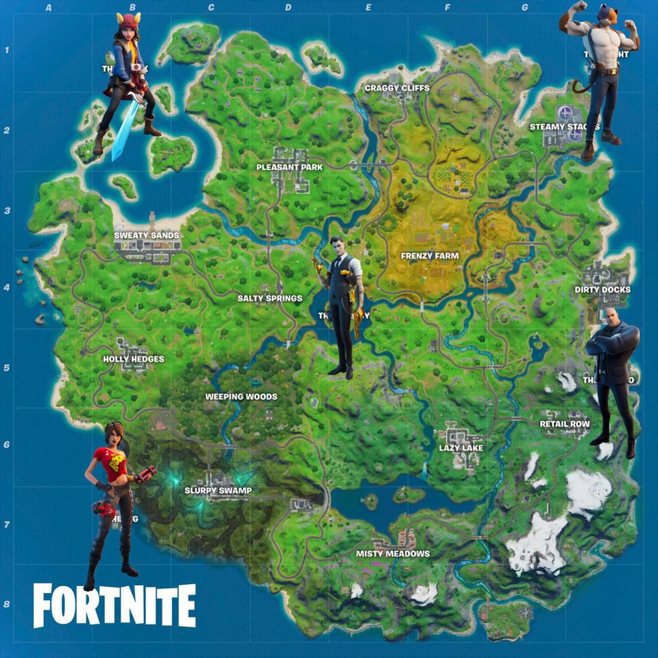 'Fortnite' Boss Weapon List And Locations: Where To ...