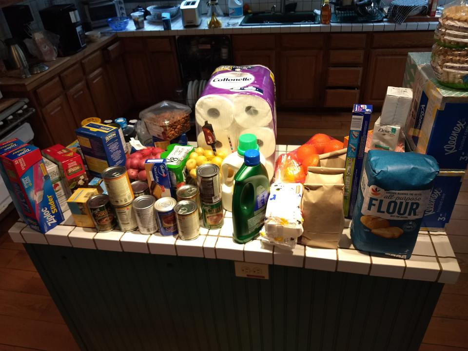 Grocery hoard