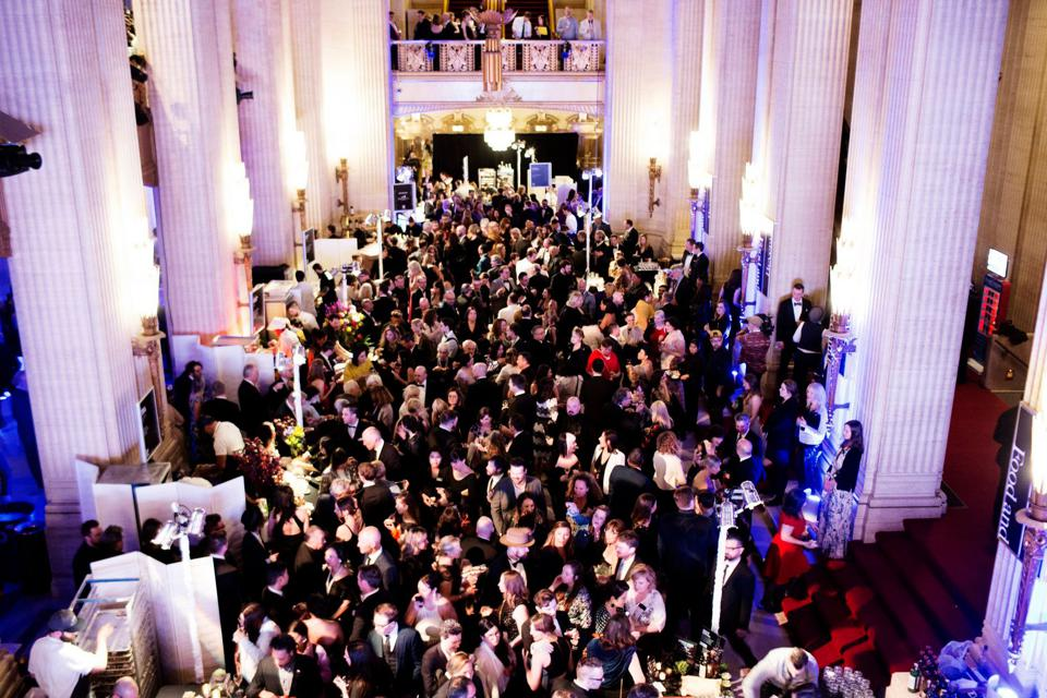 Guests packed the Lyric Opera of Chicago during the James Beard Awards reception in May 2019.