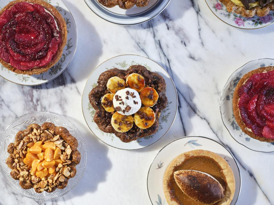 Pies by Mallory Cayon, pastry chef at Sibling Rival