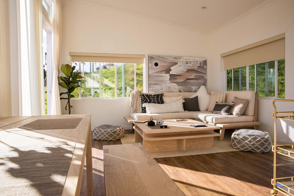This is an interior shot of the ADU by Orbit Homes.