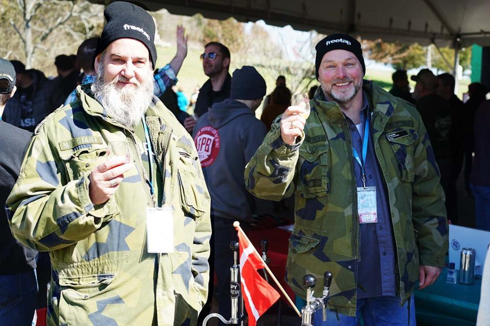 Stefan Holmén and Jens Lynge Larsen of Denmark's Spybrew
