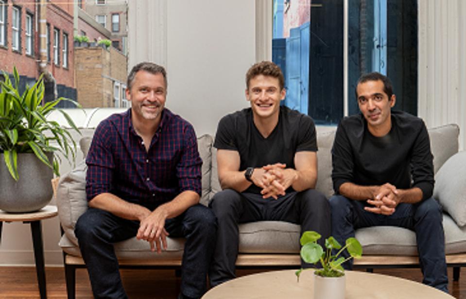 Roman cofounders Rob Schutz, Zachariah Reitano and Saman Rahmanian