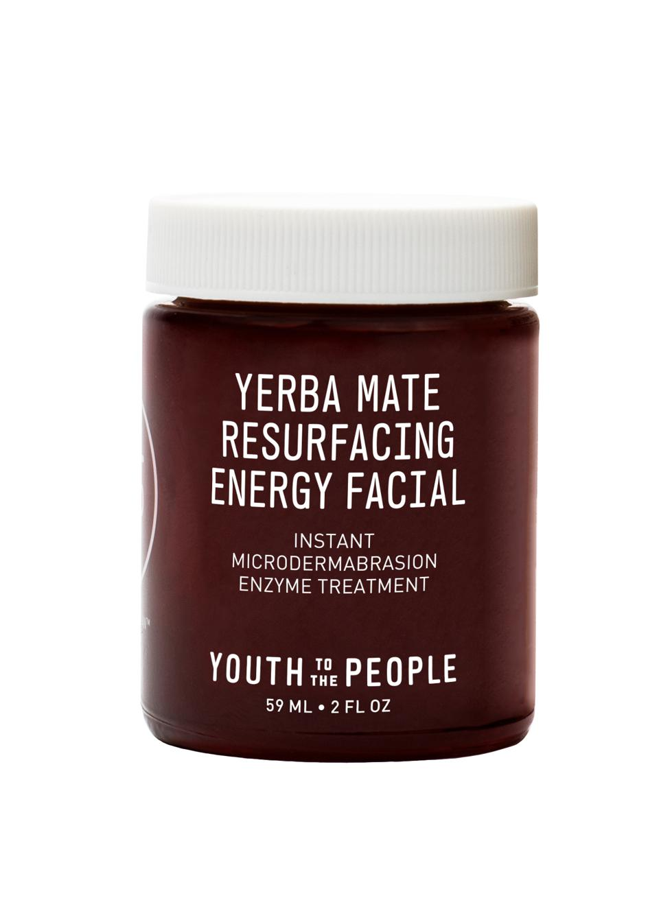 Youth to the People Yerba Mate Resurfacing Energy Facial