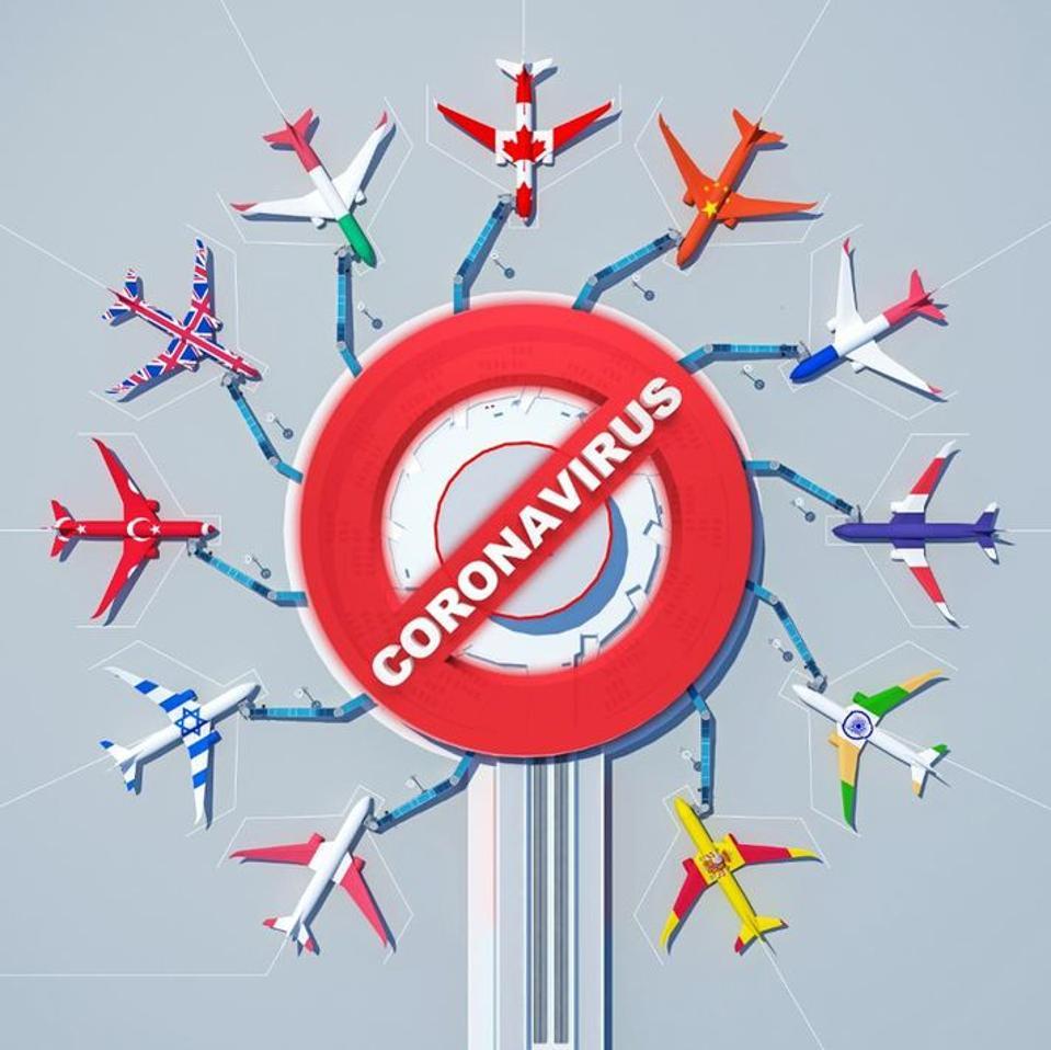 Coronavirus planes