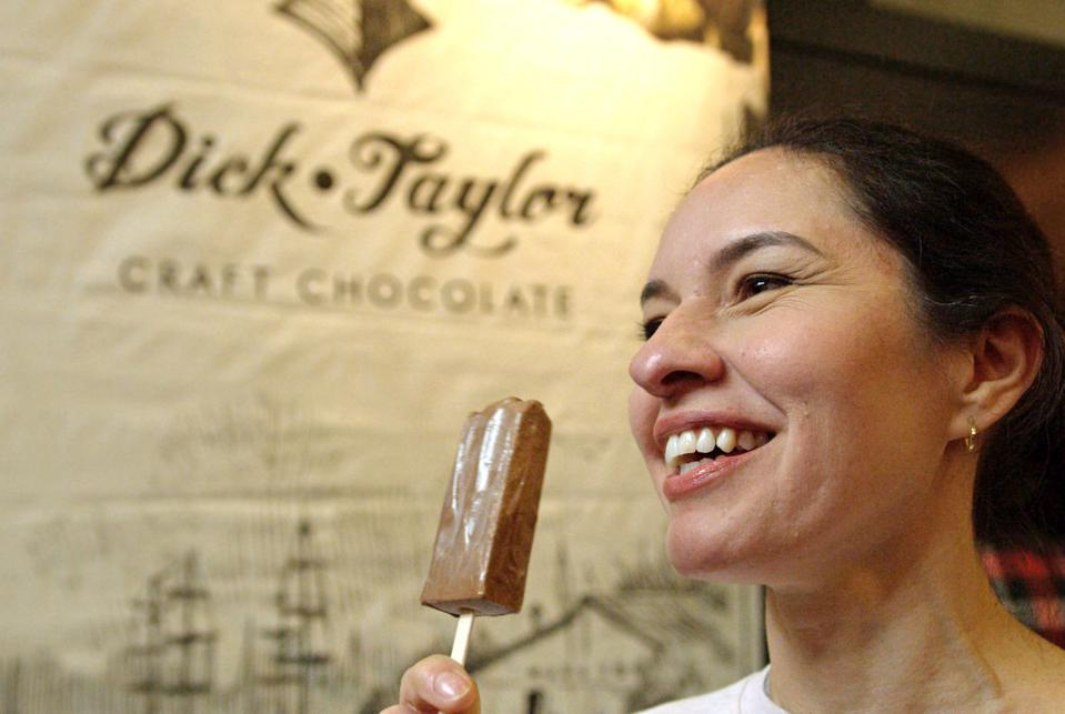 Dick Taylor Craft Chocolate Fudge Pops at Craft Chocolate Experience 2020 San Francisco
