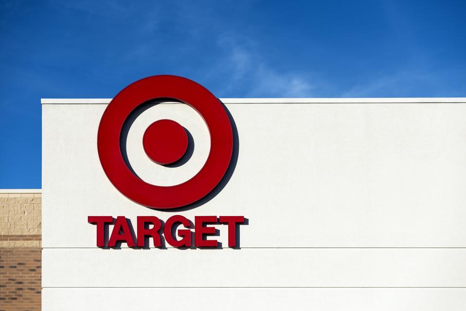 Target Store exterior...