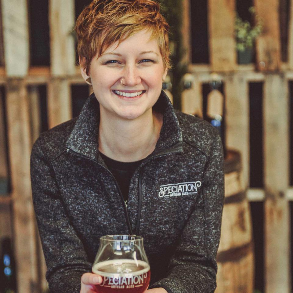 Whitney Ermatinger, co-founder of Speciation Artisan Ales