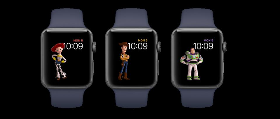 Apple Watch Toy Story faces