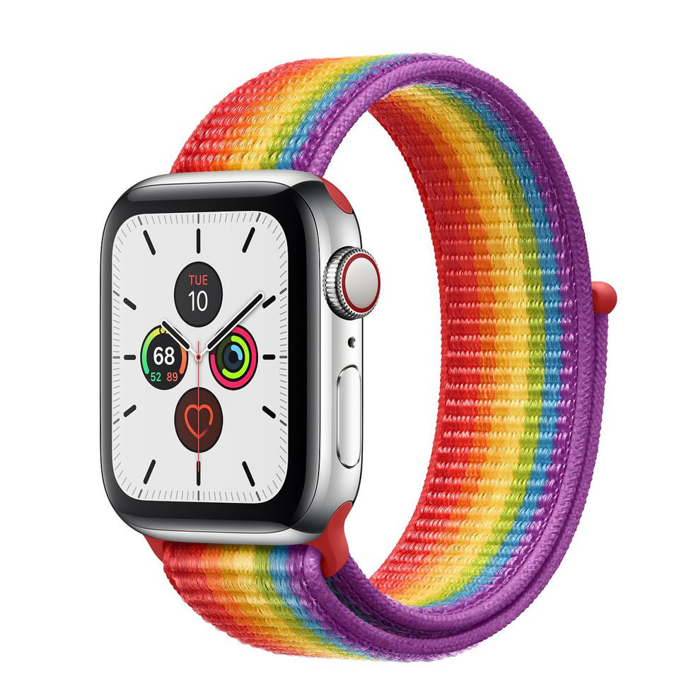 The upcoming Apple Watch Series 6 will might have PRIDE WATCH STRAP.