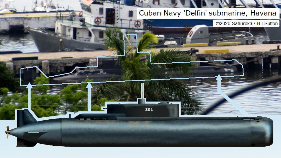 Cuban Navy Submarine