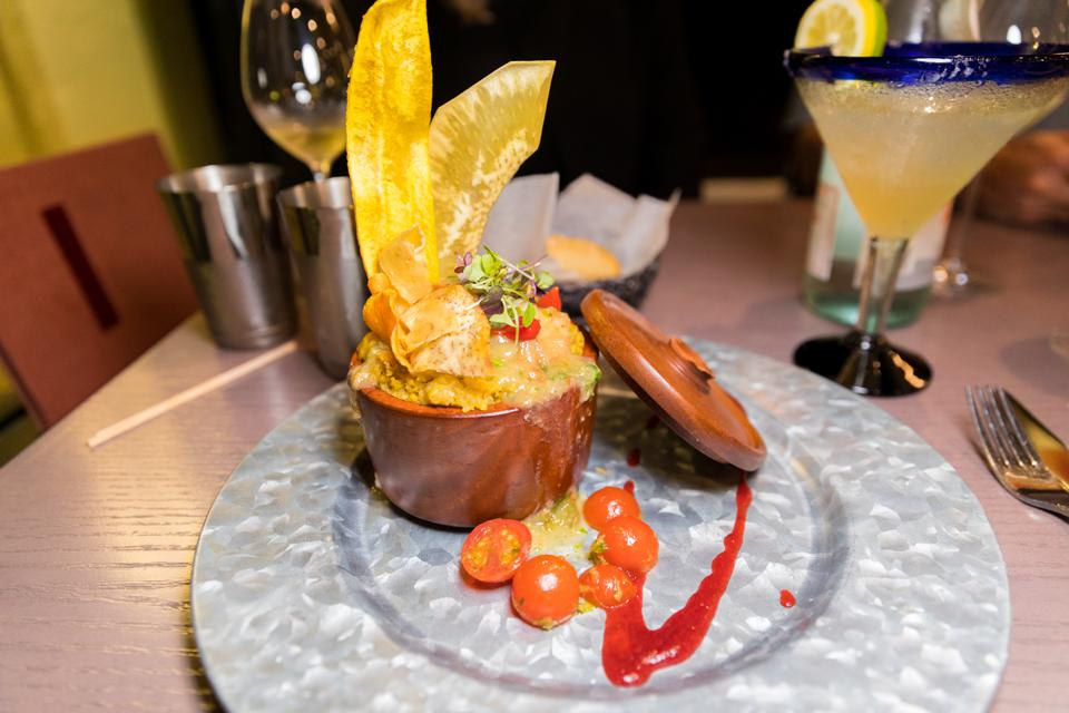 PUERTO RICO - Shrimp Mofongo at Iguanas Cocina
