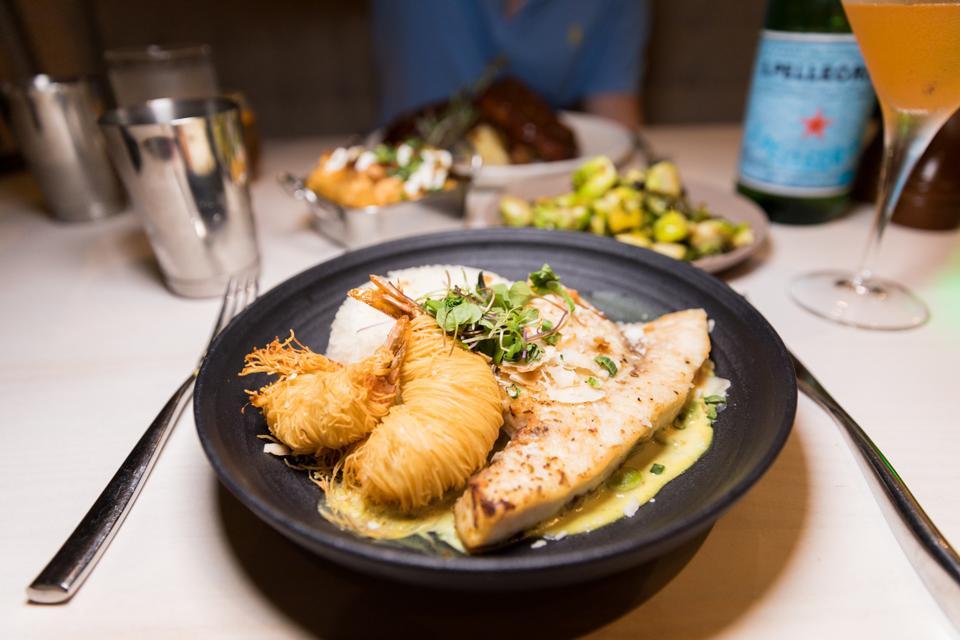 PUERTO RICO - Grilled Swordfish at Roots Coastal Kitchen