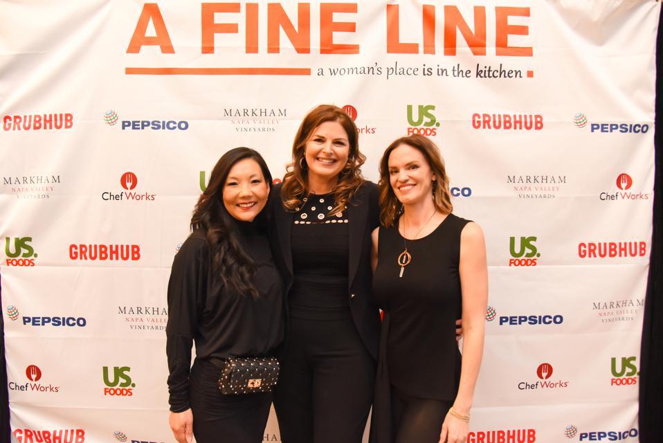 Women's Hospitality Initiative co-founders: Mary Choi Kelly, (MCK Leadership), Elizabeth Blau (Blau & Associates), Jolene Mannina (Secret Burger)