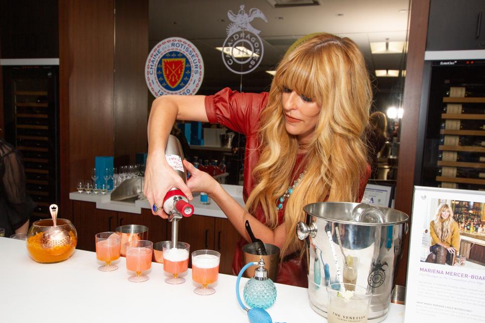 Cosmopolitan of Las Vegas Chief Mixologist Mariena Boarini