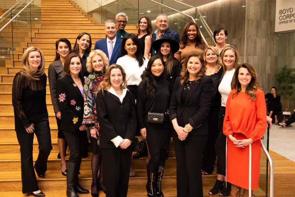 Women's Hospitality Initiative Founding and Strategic Advisory Board Group Photo at Hospitality Hall