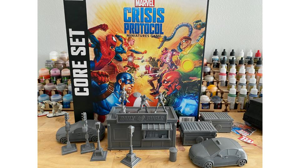 Marvel Crisis Protocol (wampas not included)