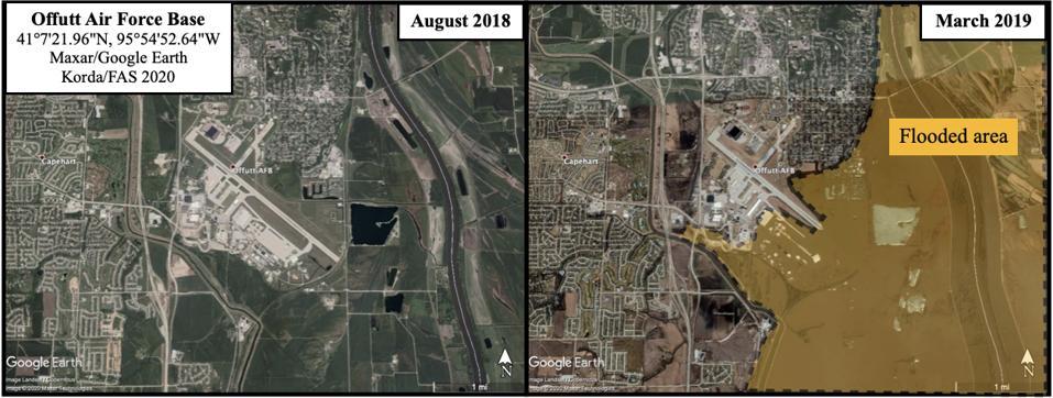 Offutt Air Force Base, home of US Strategic Command in Omaha, Nebraska.