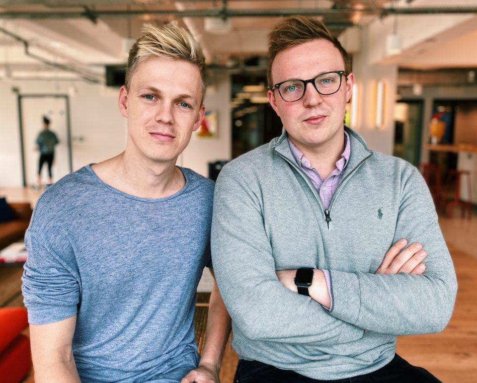 Caspar Lee, 25 and Ben Jeffries, 24, co-founders at Influencer.