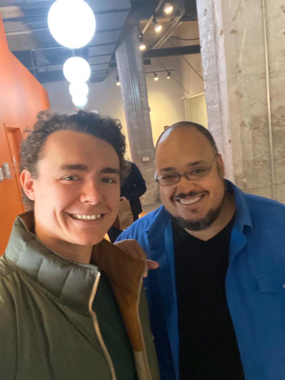 LegionFarm CEO with Y Combinator CEO.