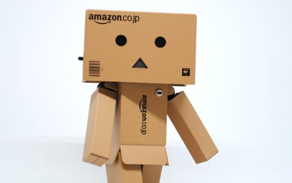 Not quite an Amazon robot