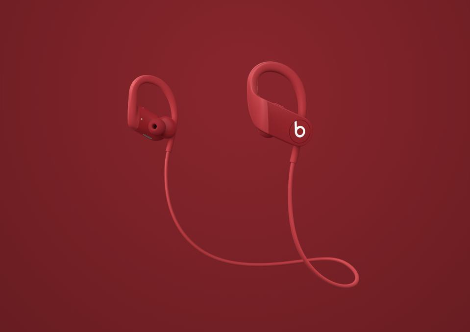 Beats Powerbeats in red